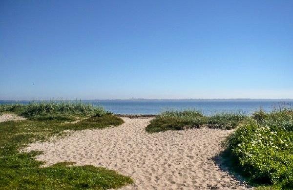 Leuchtturm-Strand